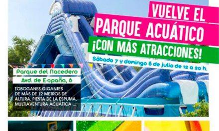 Fiesta acuática este fin de semana en el parque del Nacedero