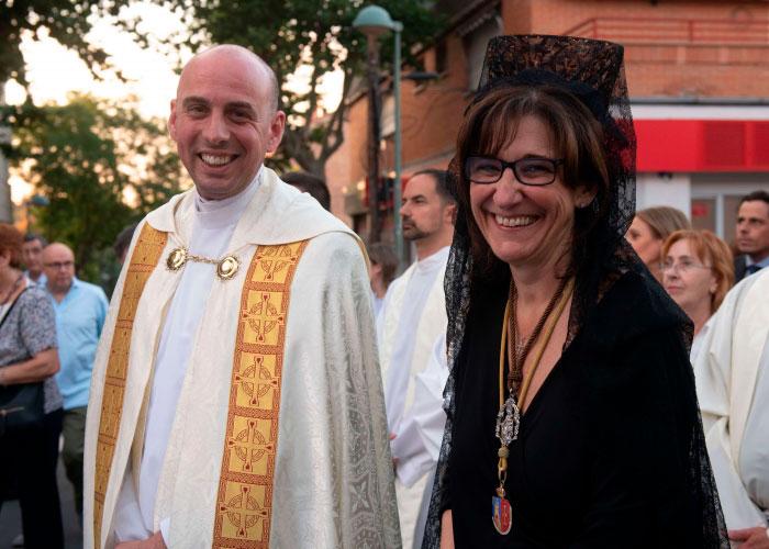 Las fiestas de la Estación concluyen con la Misa y Procesión en honor a la Virgen del Carmen