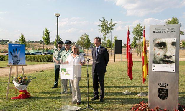 Boadilla recuerda a Miguel Ángel Blanco dando su nombre a un parque en la zona de Valenoso