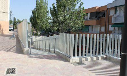 Finalizadas las obras de mejora del céntrico Barrio de las Flores de Pozuelo