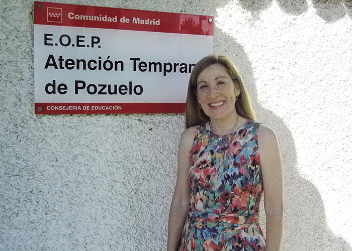 Isabel Yela, Directora del EOEP Atención Temprana de Pozuelo