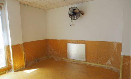 Obras de renovación y mejora en la Escuela Infantil Achalay