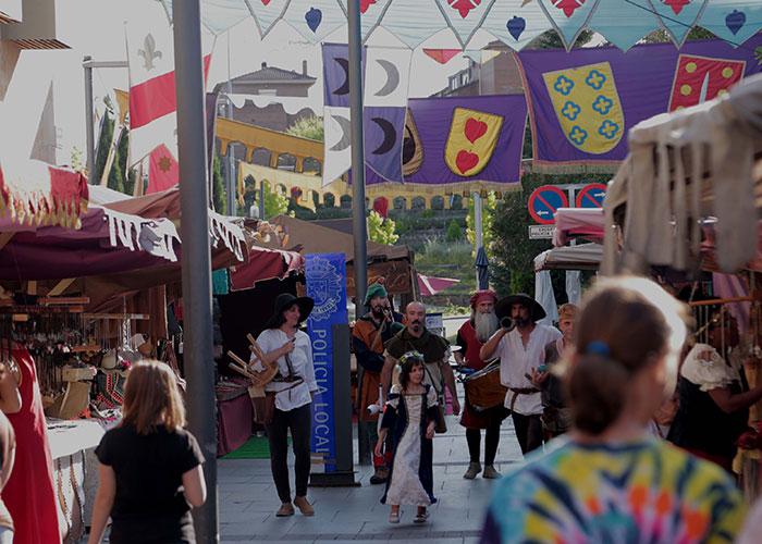 El Mercado Medieval atraerá este fin de semana a miles de visitantes