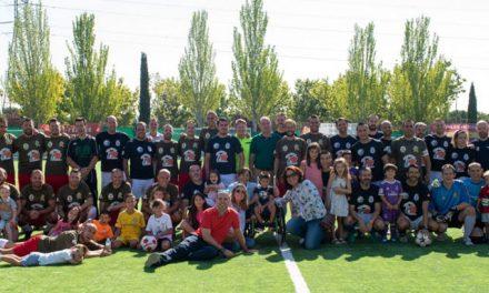 Un partido solidario de fútbol enfrenta a la Policía Municipal y Nacional de Pozuelo contra la Guardia Civil y Policía Local de Boadilla