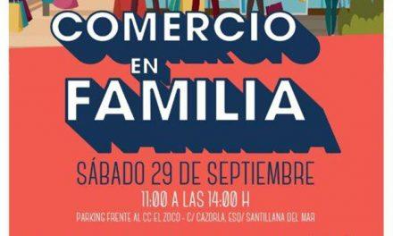 """""""Comercio en familia"""" el próximo sábado, con descuentos, regalos, talleres y actividades"""