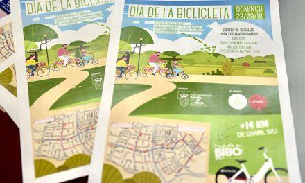 El Ayuntamiento anima a los vecinos a participar el próximo domingo en el Día de la Bicicleta