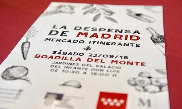 La Despensa de Madrid llega a Boadilla el próximo sábado