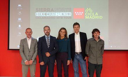 La Comunidad promueve el cicloturismo con el 'Sierra Norte Bike Challenge-Ciclamadrid MTB Tour'