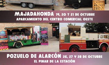 FOOD TRUCKS, próxima parada Majadahonda y Pozuelo de Alarcón