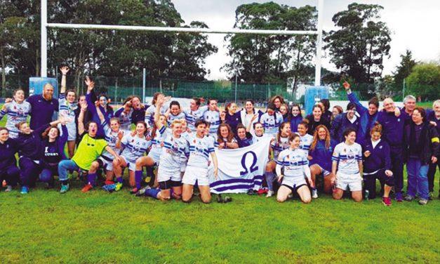 Eclosión del rugby femenino que juega ya en alta competición