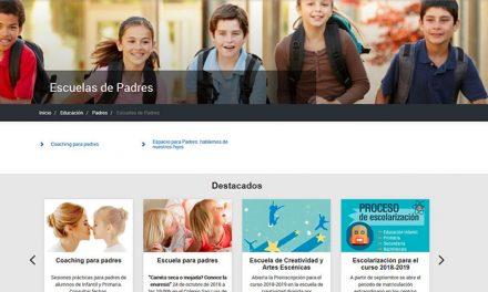 """El Ayuntamiento organiza un nuevo programa de """"Escuela para padres"""" para apoyarles en la educación de sus hijos"""