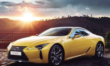 Lexus presenta el LC 500h Yellow edition