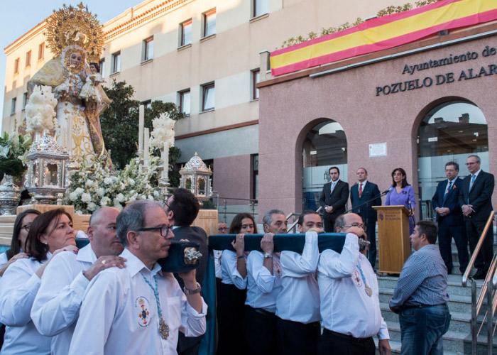 La Congregación de la Virgen de la Consolación Coronada celebra el triple aniversario de la Virgen