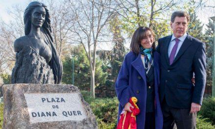 Una plaza y una escultura en el Parque San Juan de la Cruz de la ciudad recordarán a la vecina Diana Quer