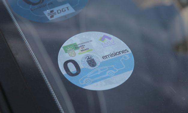 """Los vehículos identificados como """"cero emisiones"""" ya no pagan en la zona de estacionamiento limitado"""