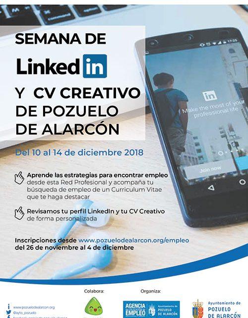 El Ayuntamiento organiza unas jornadas para aprender estrategias de búsqueda de empleo a través de la red profesional LinkedIn