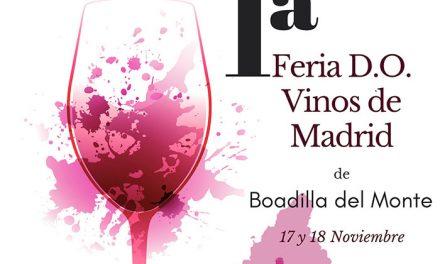 Boadilla acoge el próximo fin de semana la I Feria de la Denominación de Origen Vinos de Madrid