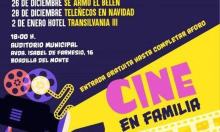 El Ayuntamiento ofrece un ciclo gratuito de Cine en Familia para esta Navidad