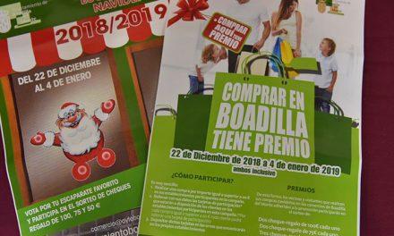 El Ayuntamiento pone en marcha dos campañas navideñas de promoción del comercio local