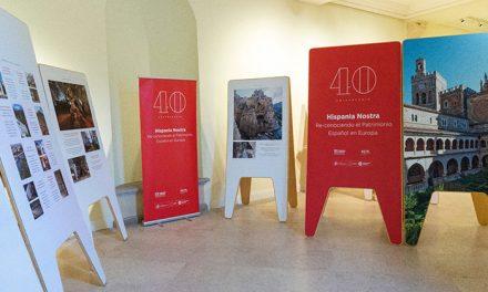 El Palacio acoge la exposición de Hispania Nostra que muestra los proyectos de conservación del patrimonio español premiados por Europa Nostra desde 1978