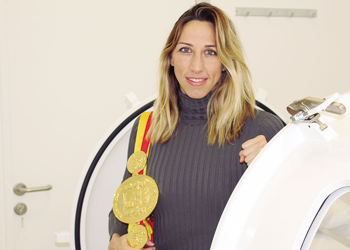Jennifer Miranda, Campeona de España de Boxeo