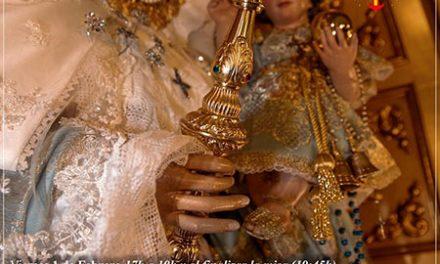 Solemne besamanos de la Virgen de la Consolación