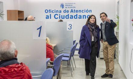 El Ayuntamiento de Pozuelo acondiciona la Oficina de Atención al Ciudadano de Padre Vallet