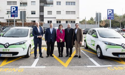 """Pozuelo de Alarcón celebra la llegada del servicio """"carsharing"""" que facilita la movilidad en la ciudad"""