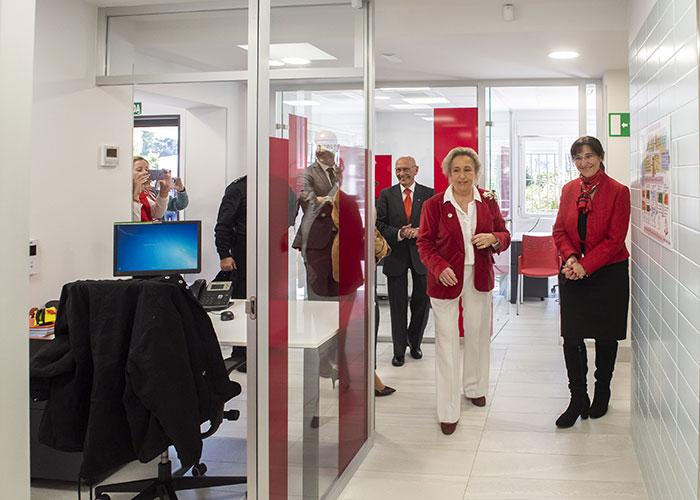 Cruz Roja Pozuelo estrena su renovada sede tras las obras de mejora realizadas en un espacio cedido por el Ayuntamiento
