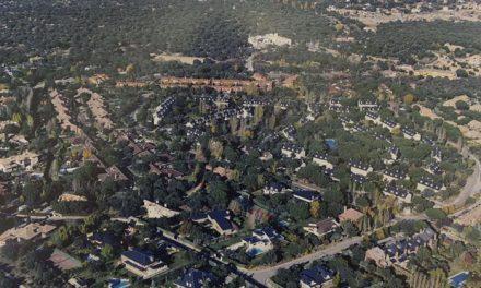 El Ayuntamiento acomete la renovación integral del alumbrado de Montepríncipe en el término municipal de Boadilla