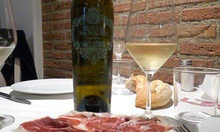 Reencontrándonos con buen vino y buena cocina en la cena maridaje de La Txitxarrería