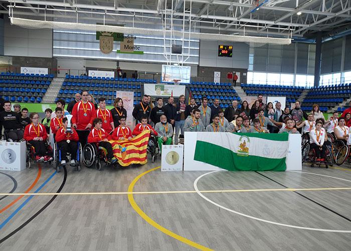 Andalucía se alza con la victoria en el IX Campeonato de Baloncesto de silla de ruedas