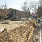 Comienzan las obras de remodelación integral en el parque de la carretera de Villaviciosa