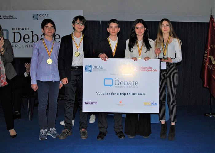 Se celebra en Madrid la final de la mayor liga de debate preuniversitario de Europa