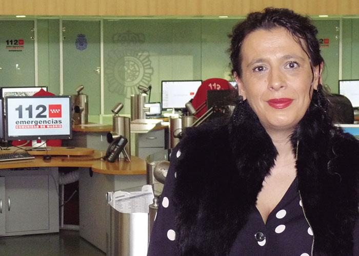 Inés Berrio, gerente de Madrid 112