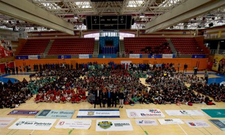 Cerca de 1000 niños participaron en los V Juegos Deportivos CICAE