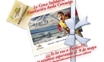 Fundación Anda Conmigo presenta su Primera Cena Solidaria