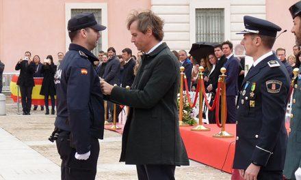 Reconocimiento a las fuerzas de seguridad del estado el día de su Patrón