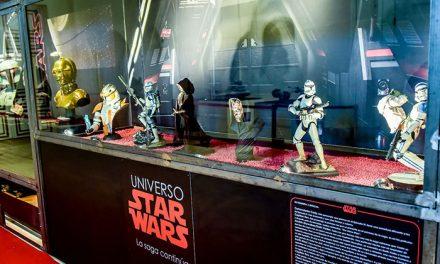 Doce mil quinientas personas han visitado la exposición Universo Star Wars en el palacio del Infante D. Luis