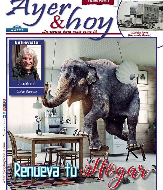 Ayer & hoy – Boadilla-Pozuelo – Revista Abril 2019