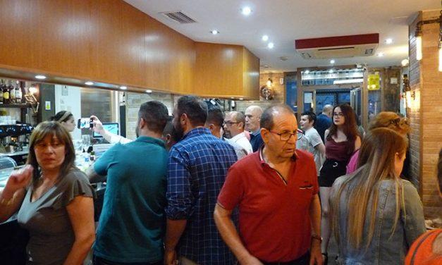 Inauguración del Restaurante Abrasador El Abuelito