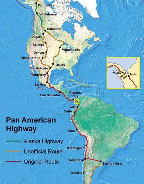 Panamericana, la carretera más larga del mundo