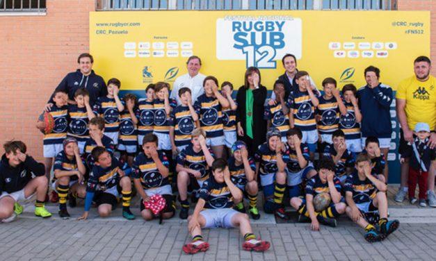El Rugby reúne a más de 1.200 jugadores este fin de semana en el Valle de las Cañas de Pozuelo