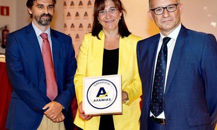 """El Ayuntamiento distinguido con el Sello """"Afanias Comprometido"""" por su atención a las personas con discapacidad intelectual"""