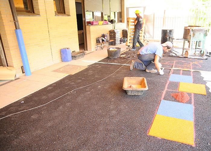 Obras de mejora y acondicionamiento en el CEIP Ágora