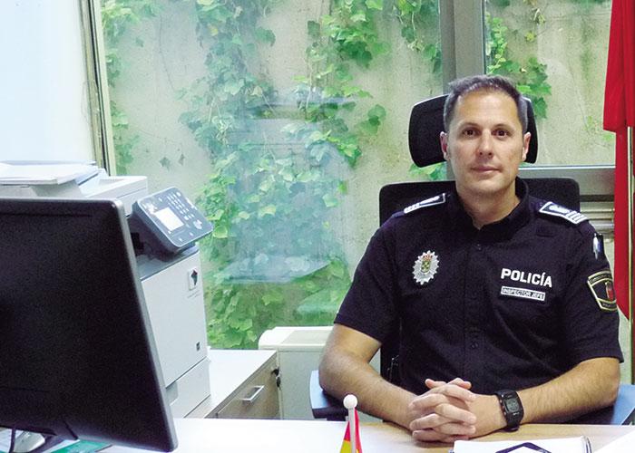 Luis R. Fernández-Pinedo, Inspector jefe de la Policía Local de Boadilla del Monte