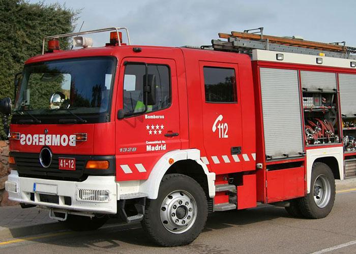 Los bomberos de la Comunidad de Madrid atendieron 14.348 emergencias en 2018