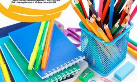 Abierto el plazo de solicitud de becas para la adquisición de libros de texto y material escolar didáctico