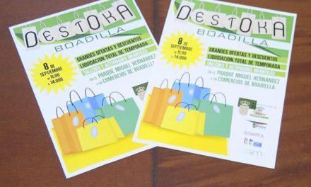 Los comercios ofrecerán grandes descuentos de fin de temporada en Destoka Boadilla el próximo domingo