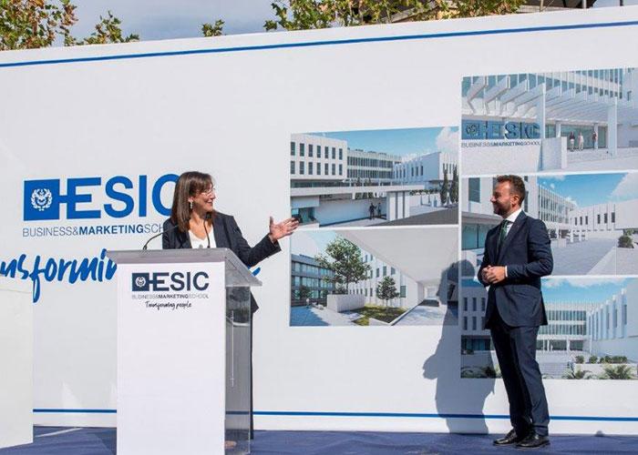ESIC pone la primera piedra de su nueva Business School en Pozuelo de Alarcón